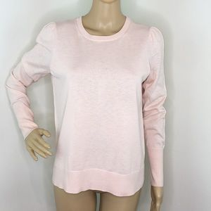 Loft Pink Long Sleeve Sweater